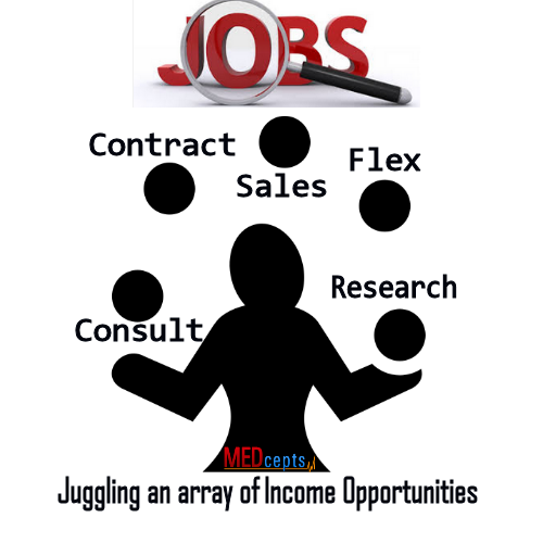flexible jobs, consulting, contract sales, multiple income opportunities
